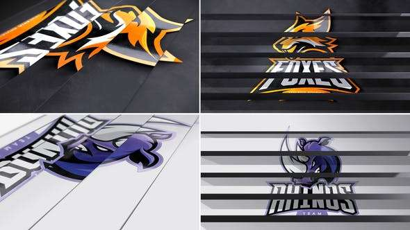 Panel Flip Logo Reveal 25447809 Videohive | Free Download After Effects Templates