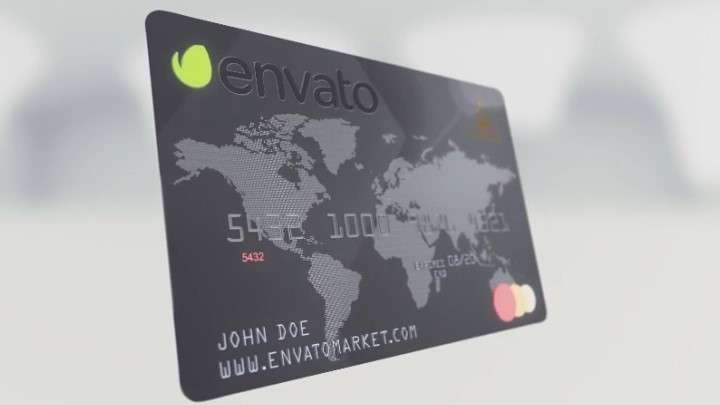 Videohive 11660674 - Element 3D Credit Card - After Effect Template