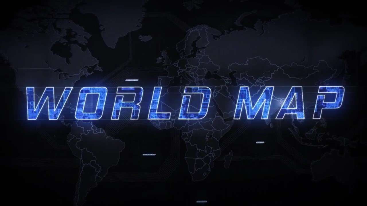Videohive 19202652 - World Map Element 3D - After Effect Template