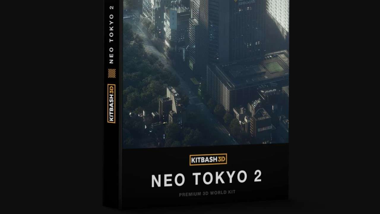Neo Tokyo 2 - Model 3D For Free
