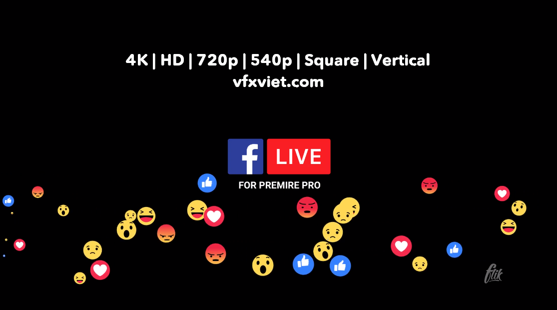 Facebook Live by flikmotion | VideoHive 22499561 | Free Premiere Pro Templates