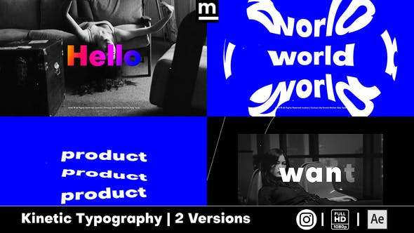 Videohive 25796497 - Stomp Typography - After Effect Template