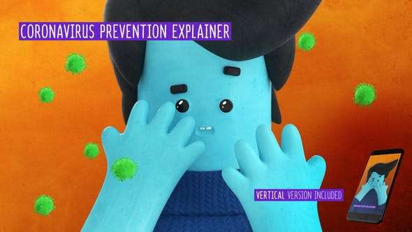 Coronavirus Prevention Explainer - Videohive 26313965 - After Effect Template