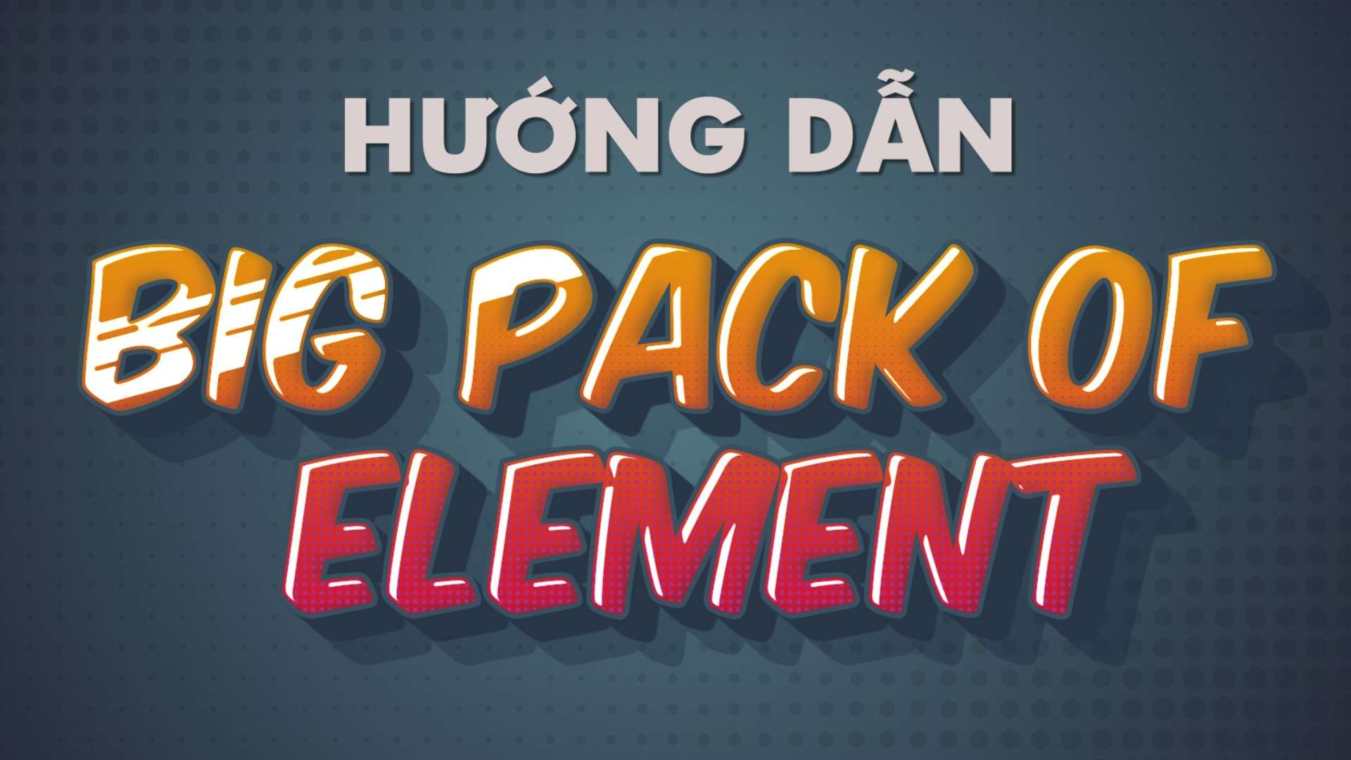 Hướng Dẫn Cách cài Đặt Big Pack Of Element Cho After Effect Mọi Phiên Bản