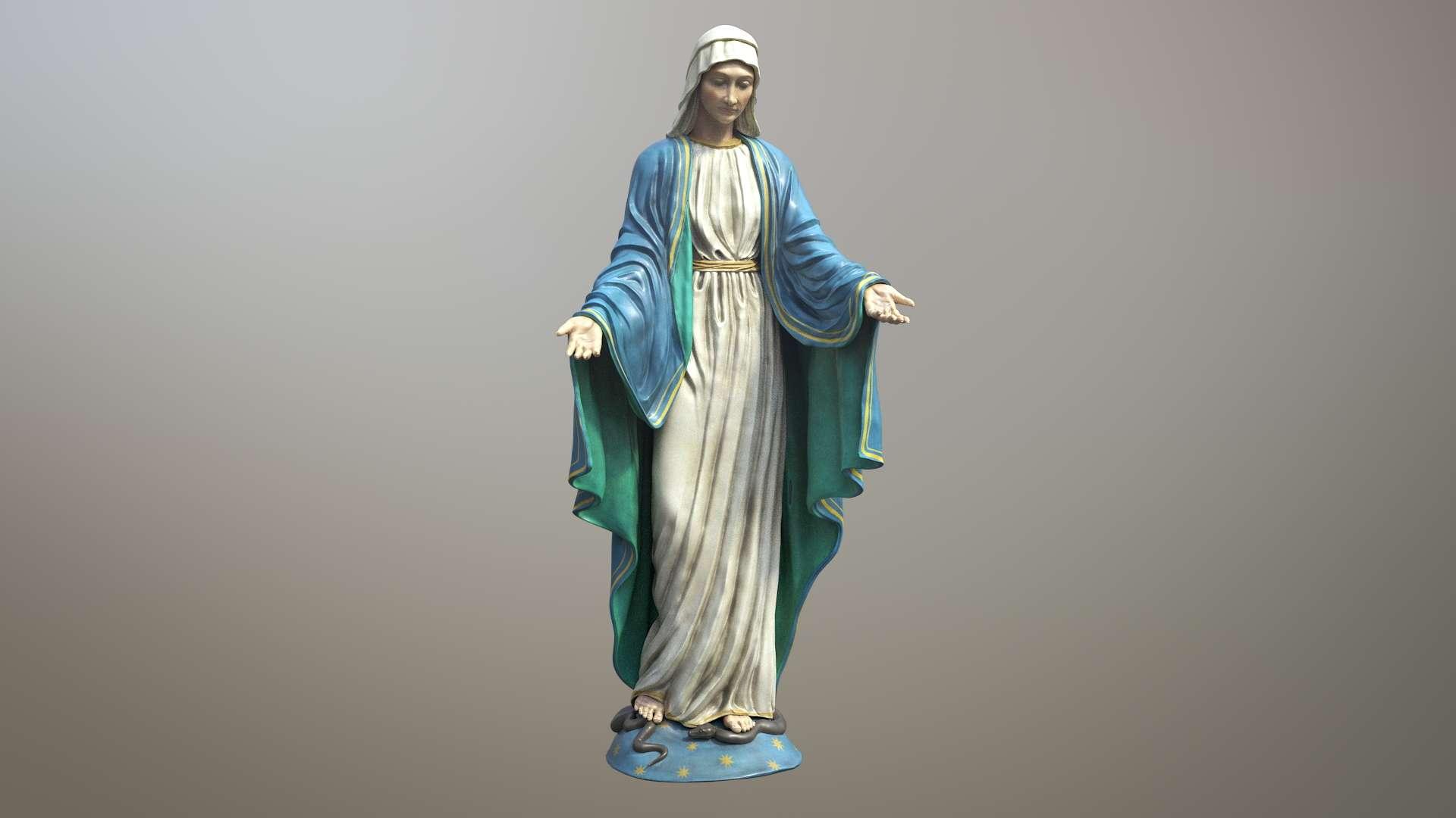 Maria 3D Model - Model 3D For Free