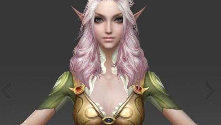 Fantasy Girl 3d model - Model 3D For Free