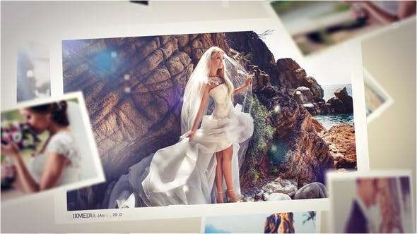 Wedding Mist Slideshow - Videohive 26369332 - After Effect Template