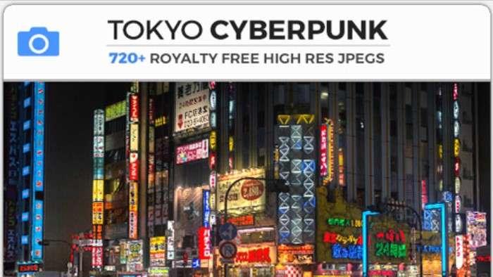 TOKYO CYBERPUNK - Photobash - Image Footage