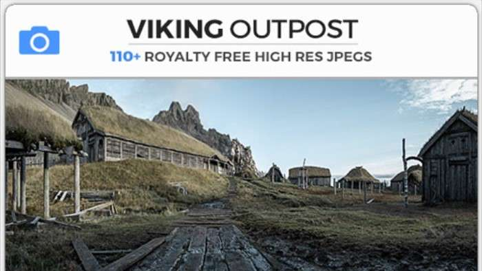 VIKING OUTPOST - Photobash - Image Footage