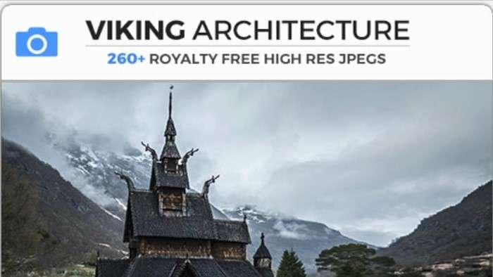 VIKING ARCHITECTURE - Photobash - Image Footage