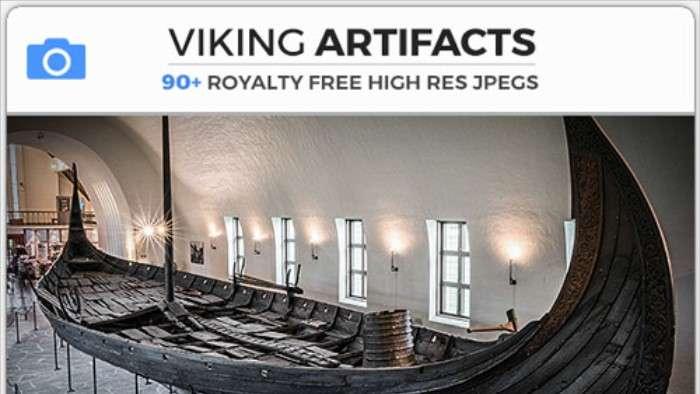 VIKING ARTIFACTS - Photobash - Image Footage
