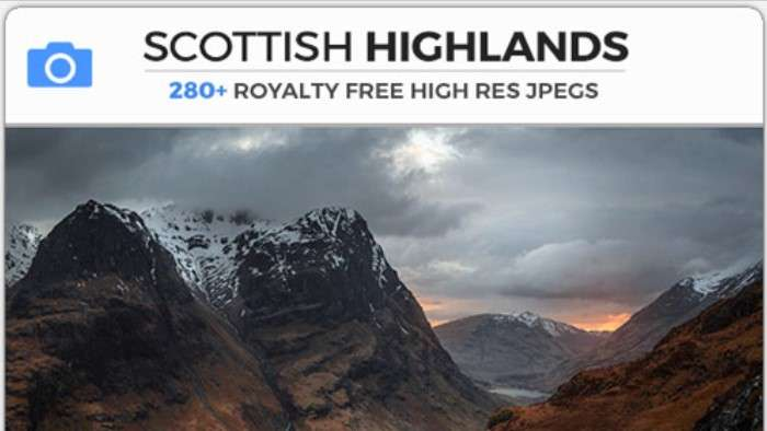 SCOTTISH HIGHLANDS - Photobash - Image Footage