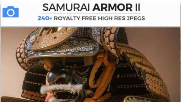 SAMURAI ARMOR II - Photobash - Image Footage