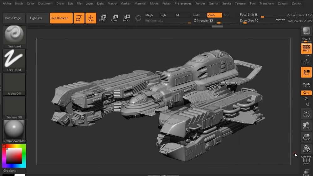 Scifi Ship Series in Maya 5 Volume - Maya Tutorial
