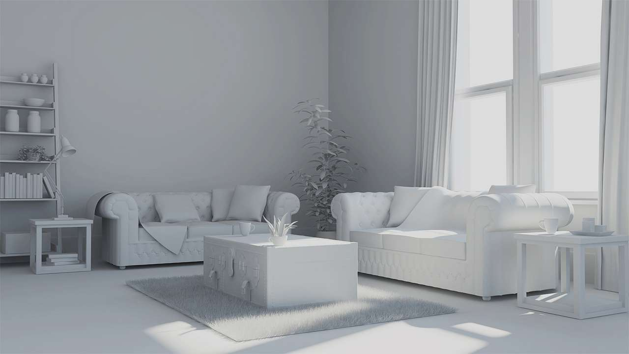 Modeling for Photorealistic Interiors with CINEMA 4D - Cinema 4D Tutorial
