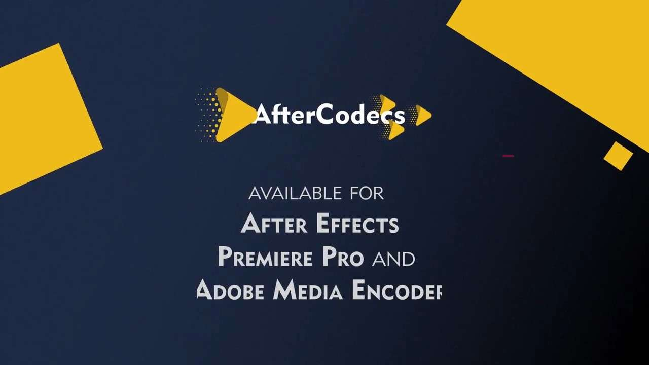 AfterCodecs 1.9.3 - Script, Plugin For After Effect (WIN/MAC)
