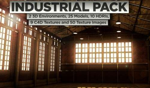 3D Industrial Pack - Pixel Lab - Model 3d