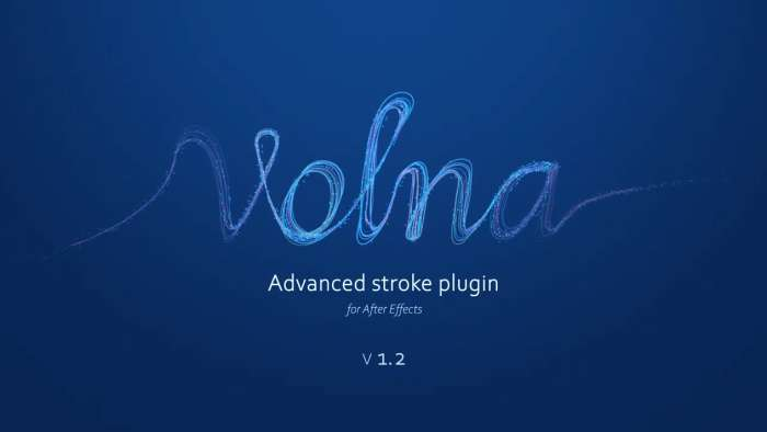 Volna (Version) 1.3.2- Plugin After Effect For Win & Mac