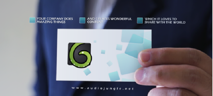 Videohive 2120316 - Business Card V1 - After Effect Template