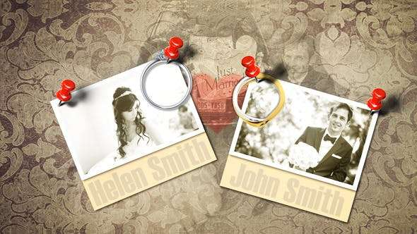Videohive 4054869 - Wedding Photo Album - After Effect Template