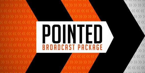 Videohive 2336317 - Pointed Broadcast Package - After Effect Template