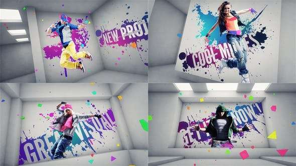 Videohive 1589656 - On The Wall - After Effect Template