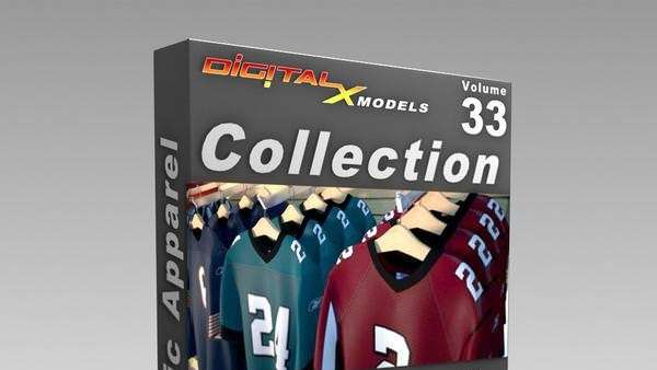 Digital Models - Athletic Apparel  - Model 3D