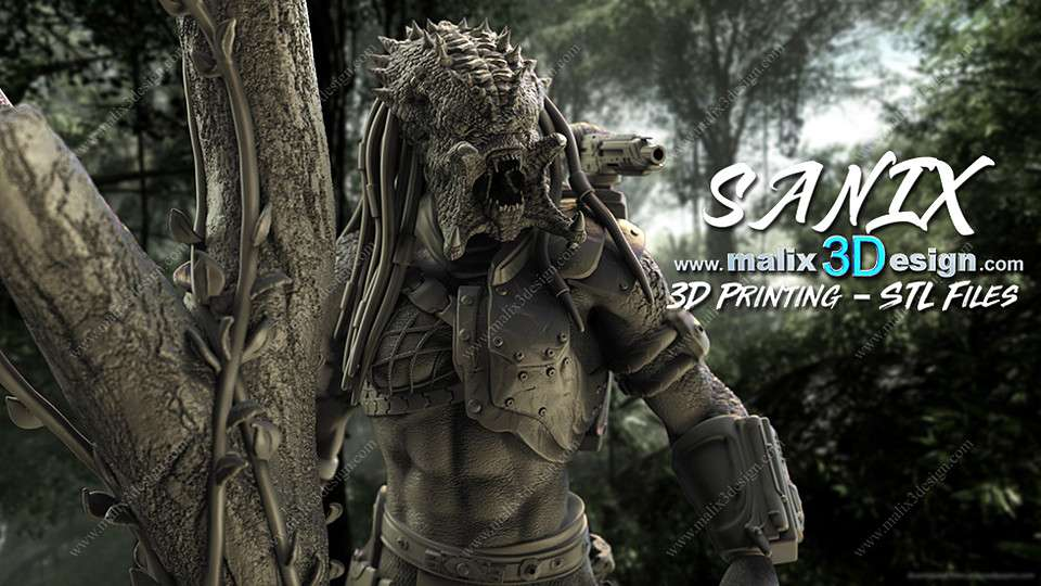 Predator 3D printable Ready - Model 3D