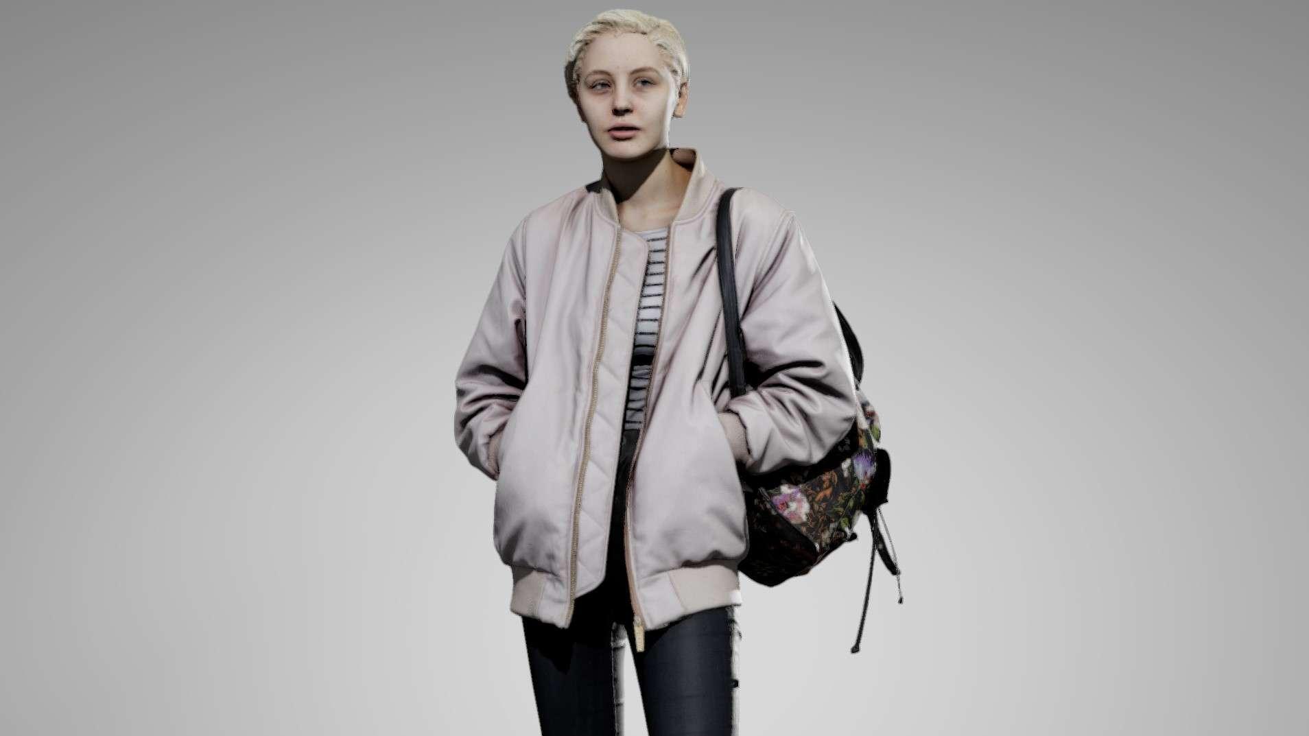 ANATOMY360 FEMALE CLOTHING PACK 01 - Model 3D