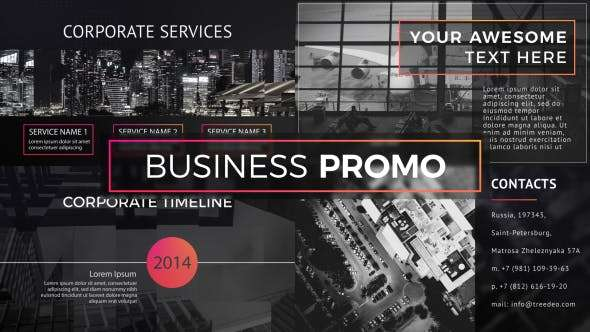 Videohive 19925068- Business Promo- After Effect Template