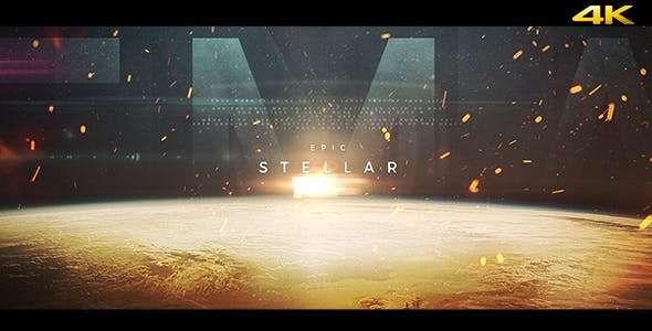 Videohive 19755348 - Stellar - Epic Trailer -  After Effect Template
