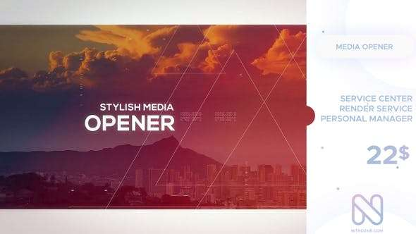 Videohive  19844556 - Media Opener  -  After Effect Template