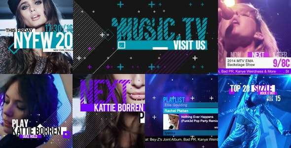 Videohive  19737583 - Music and Entertainment- After Effect Template