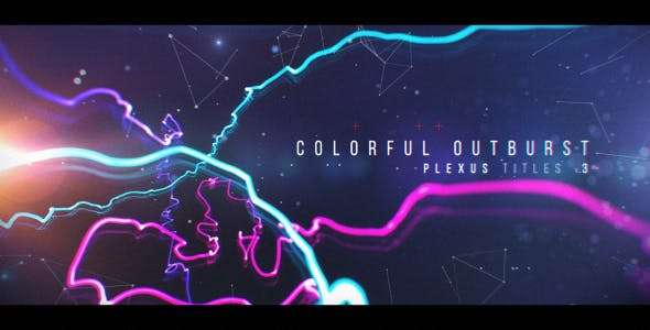 Videohive  1958178 - Plexus Titles 3  - After Effect Template