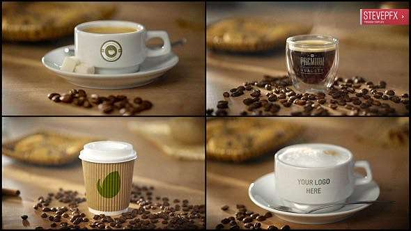 Videohive 19771274 - Coffee AE Mockup  - After Effect Template