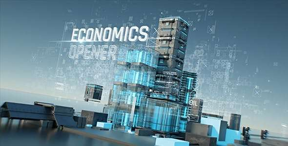 Videohive  19687986 - Economics Opener - After Effect Template
