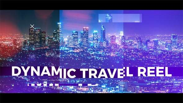 Videohive  19878211- Dynamic Travel Reel - After Effect Template
