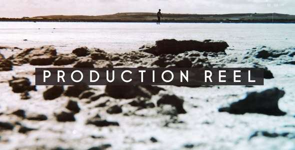 Videohive 19682270 - Production Reel  -  After Effect Template