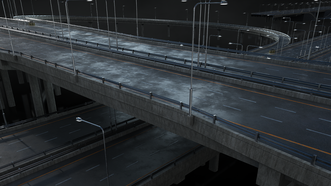 Kitbash3D - Highways - Model 3D